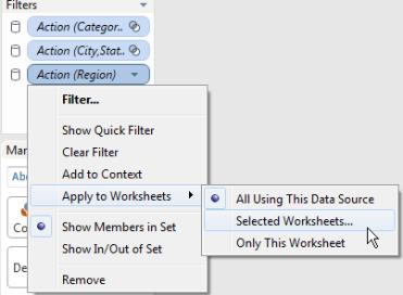 "Using a ""Hidden"" Sheet for Advanced Action Filtering"